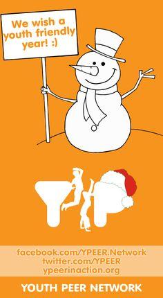 Y-PEER International New Year Card Design - 2013