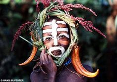 From a tribal fashion show in Sumra and Mursi in East aftrica. Inspired by nature. <3