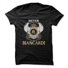 BIANCARDI - #novio gift #shirt design. ORDER NOW => https://www.sunfrog.com/Camping/BIANCARDI.html?id=60505