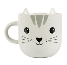 Buy Kawaii Friends Nori Cat Mug online and save! Kawaii Friends Nori Cat Mug Meet our cutest new collection of Kawaii Friends. Inspired by quirky and cute designs that derive from Japanese pop cultu. Cat Kawaii, Kawaii Diy, Face Mug, Cat Face, Porcelain Mugs, Ceramic Mugs, Crazy Cat Lady, Crazy Cats, Mug Chat