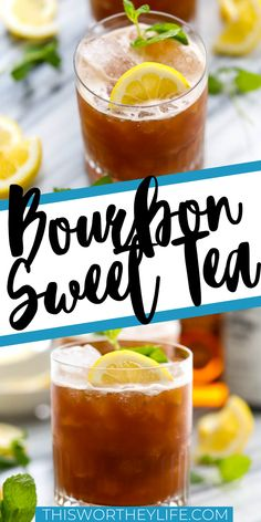 Our Bourbon Sweet Tea Cocktail is a perfect example of the bourbon lover's tenacity to create bourbon excellence, enjoy this drink anytime of the year. Burbon Drinks, Bourbon Mixed Drinks, Sweet Tea Cocktail, Sweet Tea Vodka, Lemonade Cocktail, Alcoholic Tea, Alcholic Drinks, Tea Cocktails, Summer Bourbon Cocktails
