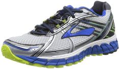 73d1f698fbf Brooks Men s Adrenaline GTS 15 Running Shoes White Olympic Lime Size 7.5 2E  Brooks