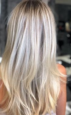 Cool blonde tones