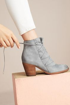 4a3de947552e Anthropologie Sam Edelman Millard Lace-Up Boots Bootie Boots