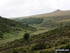 Walk Picture/View: Longaford Tor and Upper West Dart Valley from above Wistman's Wood in Dartmoor, Devon, England by Pat Brian (1)