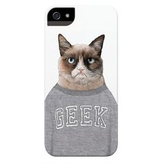 Grumpy Cat Phone Case for #iPhone and #Samsung #Technology