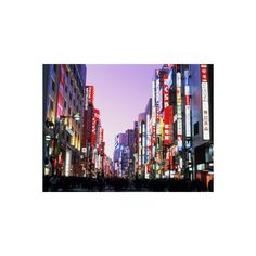 Shinjuku District, Tokyo, Japan Photographic Wall Art Print ($40) ❤ liked on Polyvore featuring home, home decor, wall art, backgrounds, filler, other, asia, travel, tokyo and subjects