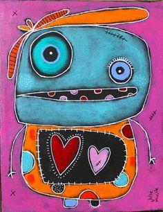 Julie Miville 3rd Grade Art Lesson, Third Grade Art, Art Classroom, Classroom Ideas, Easy Doodle Art, Ecole Art, Unicorn Art, Brown Art, Drawing Projects
