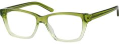 Order online, unisex green full rim acetate/plastic cat-eye eyeglass frames model #303824. Visit Zenni Optical today to browse our collection of glasses and sunglasses.
