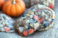 Halloween Compost Cookies