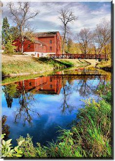 Baltic Mill - Belvidere, Illinois by *Keleka*, via Flickr