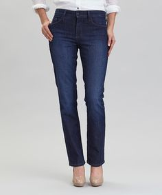 This Burbank Embellished-Pocket Sheri Skinny-Fit Jeans - Women by NYDJ is perfect! #zulilyfinds