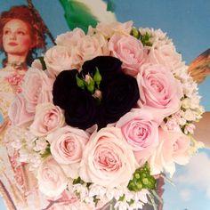 #anthos_theartofflowers #Anthos #instaflowers #roses🌹  #pink #black #pinkroses #flowers #bouquet  #instagreece  #thessaloniki  #blackroses  #flowershop #unique Thessaloniki, Pink Black, Pink Roses, Flower Art, Floral Wreath, Bouquet, Wreaths, Unique, Flowers