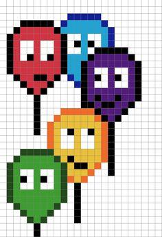 Pixel Art Pour Anniversaire Maman
