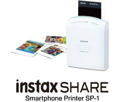 WANT !!!!! Fujifilm launches an instant smartphone printer in April, instax SHARE Smartphone Printer SP-1