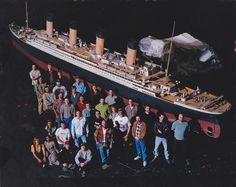 Titanic.     Vfx behind the scenes and cinemagic