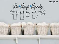 Laundry Sayings For Walls Pleasing Laundry Quotes For The Wall  Google Search  Home Improvement Inspiration Design