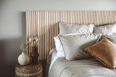 Home Decor Bedroom, Diy Home Decor, Bed Headboard Design, Headboard Ideas, Diy Headboard Wood, Panel Headboard, Home Decoracion, Diy Headboards, My New Room