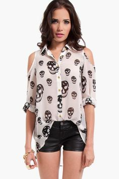 Tobi - Too Cool for Skull Blouse