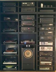 Home Audio Speakers, Hifi Audio, Hifi Stereo, Equipment For Sale, Audio Equipment, Technics Hifi, Kitchen Electronics, Electronics Gadgets, Audio Rack