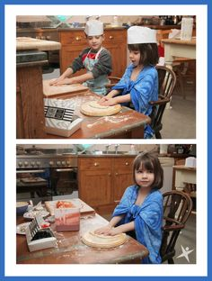 Iris and Jack making Pizzas https://thelittleexplorersactivityclub.wordpress.com/