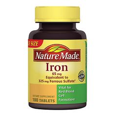Iron Supplement Pills -See more Vitamins and Supplements at http://tonyshealthandfitness.com/tonys-vitamin-and-supplement-store/
