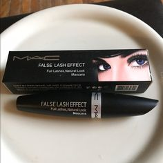 MAC NWT false lash effect mascara NWT (brand new) MAC false lash effect in black for full natural looking lashes. Full size tube NO TRADES. PRICE FIRM no discount on bundling you save on shipping only. MAC Cosmetics Makeup Mascara