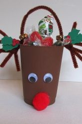 Make Rudolph Treat Cups