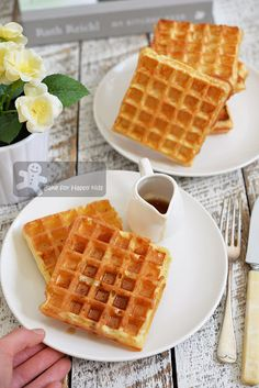 Marion Cunningham's Raised Waffles | Waffle Day | Pinterest ...