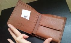 Louis Vuitton Monogram Canvas Marco Wallet M61675. inner shoot. $98+FREE shipping+on-line payment