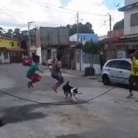 jump roping GIF