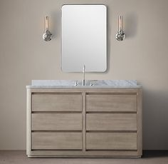 Martens Extra-Wide Single Vanity Sink