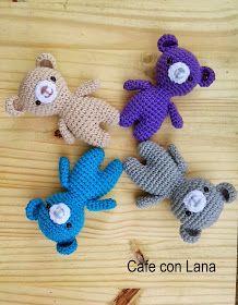 Mesmerizing Crochet an Amigurumi Rabbit Ideas. Lovely Crochet an Amigurumi Rabbit Ideas. Crochet Teddy, Crochet Bear, Crochet Patterns Amigurumi, Love Crochet, Crochet Animals, Beautiful Crochet, Easy Crochet, Amigurumi Free, Knitted Dolls