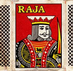 Indian matchbox label