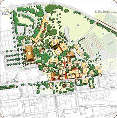 Moravian Campus Map.9 Best Around Campus Images High Schools Winston Salem North