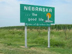 Welcome to Nebraska.....visited friends who used to live in Omaha