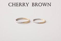 マリッジリング 『CHERRY BROWN』 | WEDDING GIFT SERVICE | SPIRAL WEB