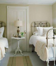 Hermosa decoración de dormitorio
