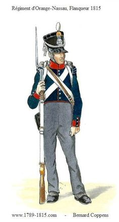 1789-1815 Regiment d'Orange-Nassau