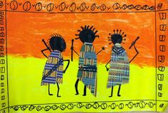 we heart art: African Dancers