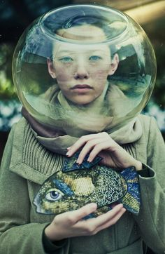 I gotta say, this most definitely reminds me of a dream I had once... (Sophie Black, Cosmic Fish)