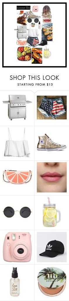 """""""Summer BBQ"""" by jessi12349 ❤ liked on Polyvore featuring interior, interiors, interior design, home, home decor, interior decorating, Levi's, Converse, Kate Spade and Olivine"""