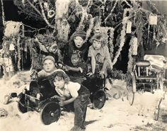 Merry Christmas from The Little Rascals c.1928