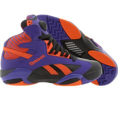 promo code 92702 fbc5e Reebok Men Shaq Attaq - Big Shaqtus Phoenix Suns (black   purple  orange)  V61029 -  159.99