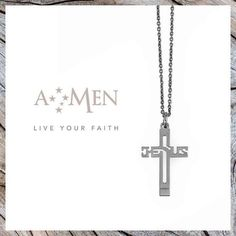 Jesus, la croce di Amen. www.amencollection.com
