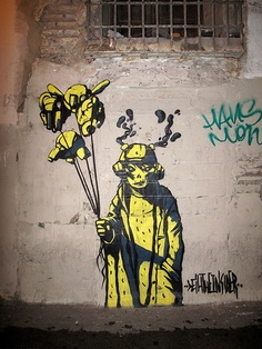 'the Insider' by Deih, Valencia graffiti