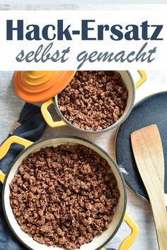 Hackersatz selbst gemacht aus Kidneybohnen und Haferflocken, vegetarisch, vegan, Thermomix What is the Paleo diet, what does it stand for. Meat Recipes, Dinner Recipes, Meat Substitutes, Mince Meat, Frijoles, Kidney Beans, Some Recipe, Ground Beef Recipes, Food Inspiration