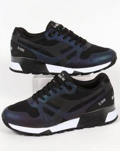 Diadora N9000 MM Hologram Trainers Black,shoes,sneakers,mens,runners
