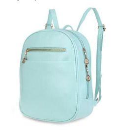 7 Candy Color Women Backpack Bag 2016 Japan and Korea Style School Travel Bagpack PU Leather Girls Rucksack Teenage Student