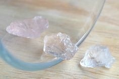 Pink Morganite Facet Rough Clear Crystal 10.30 CT. LOT 3 PCs from Africa by JEWVARY on Etsy